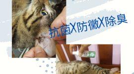 有醫生和我說少和寵物那麼親密,因為你有過敏體質!!寵物噴劑來解決…